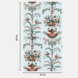 Wallpaper Directoire Arabesques by https://www.decormural.fr