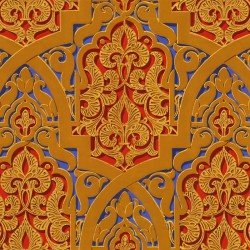 Papier peint Mauresque