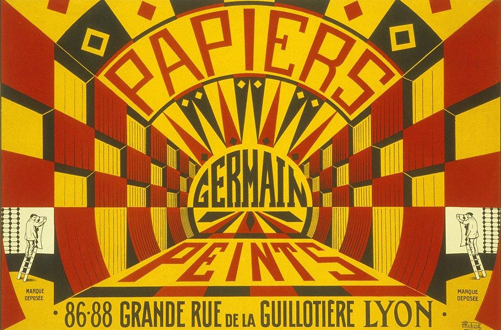 Affiche Germain Lyon