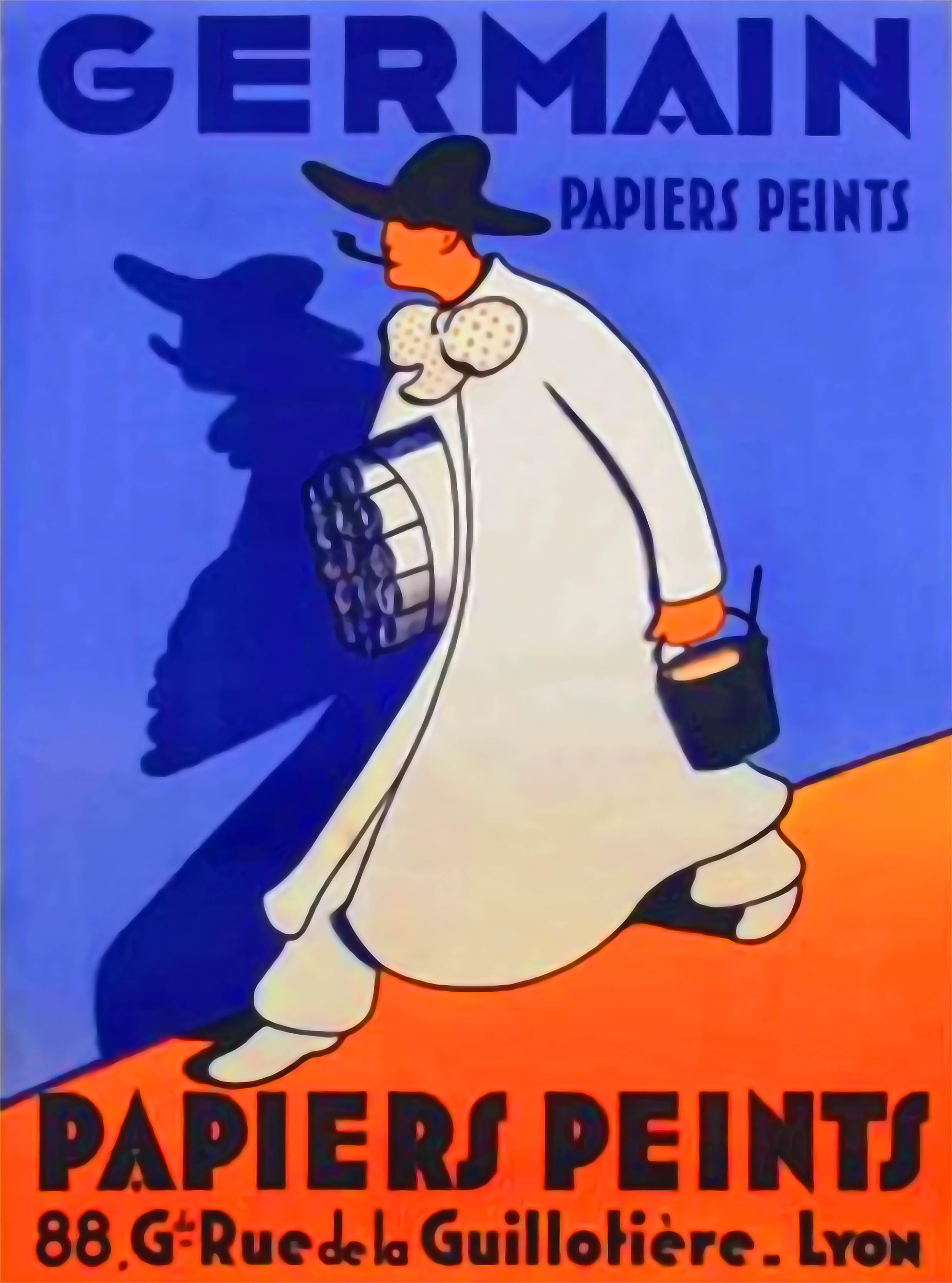 Affiche Papiers Peints Germain Carron Lyon